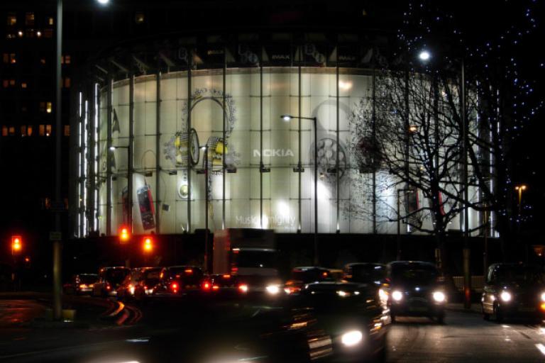 Imax Cinema, Waterloo ©Stephen McKay