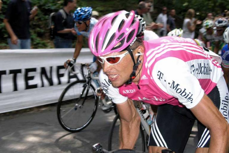 Jan Ullrich in 2004 Image by Moritz Petersen