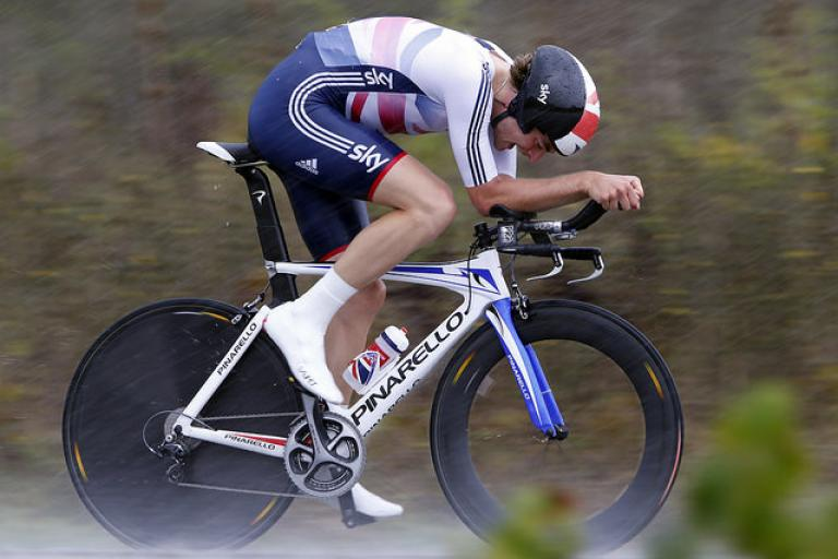 Jonathan Dibben in 2015 Worlds U23 Time Trial (copyright Britishcyling.org.uk)