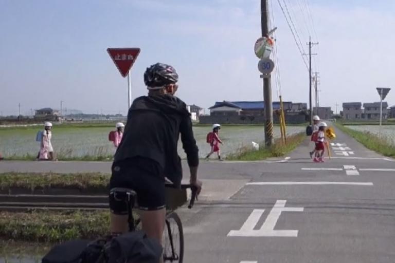 Juliet in Japan Charge Bikes Vimeo Still