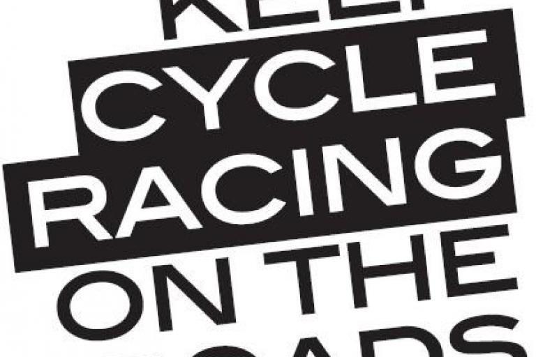 Keep Racing on the Roads logi
