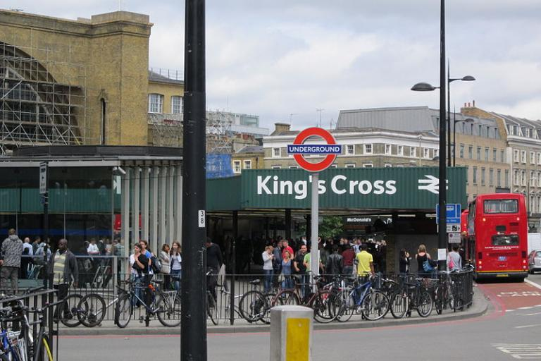 King's Cross (credit Green Lane, Wikimedia Commons)