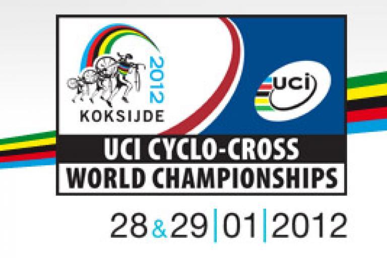 Koksijde UCI Cyclo-Cross World Champ 2012 logo