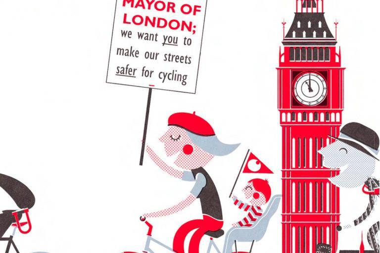 LCC Big Ride Poster