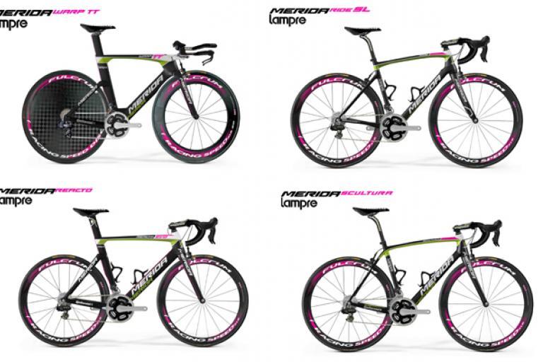 Lampre stolen bikes