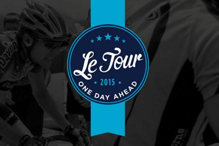 Le Tour One Day Ahead logo