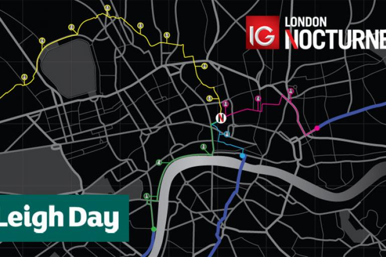 Leigh Day IG London Nocturne routes