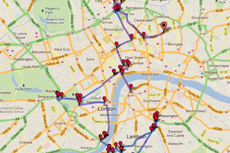 London 10 Most Dangerous Junctions ride