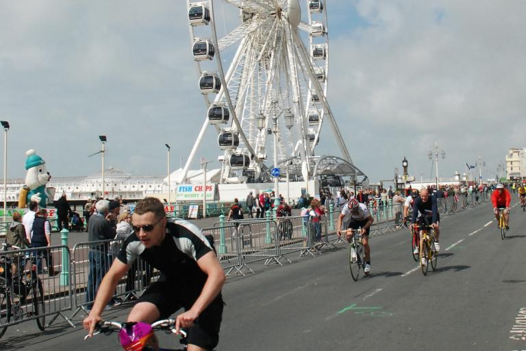 London to Brighton by Peter Edgeler