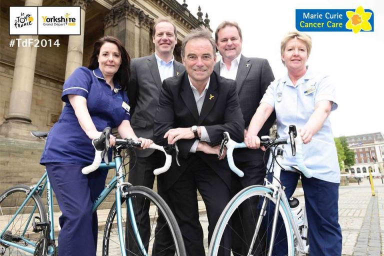 Marie Curie Cancer Care and Tour de France