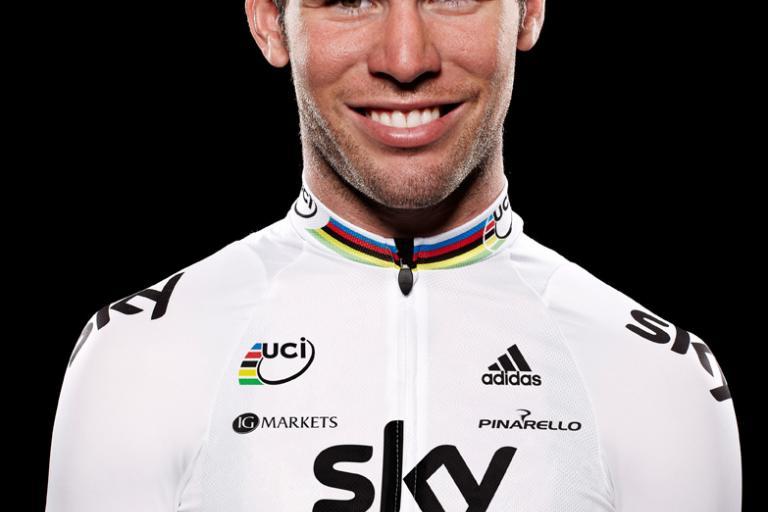 Mark Cavendish, Team Sky rainbow jersey