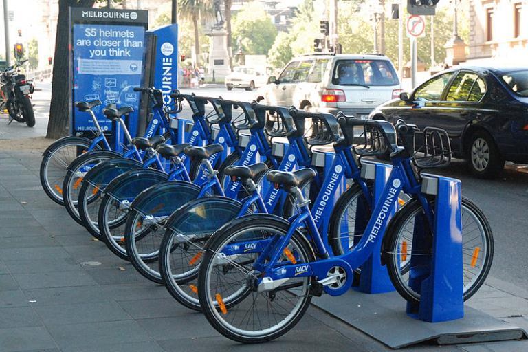 Melbourne Bike Share (Papier K, Wikimedia Commons)