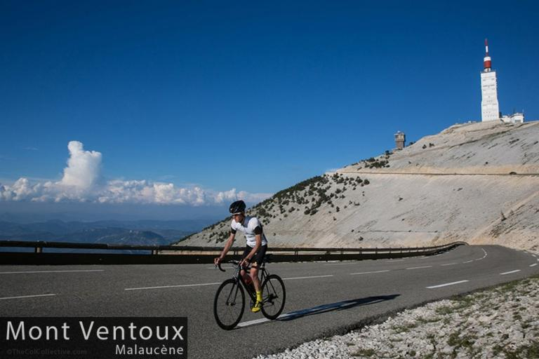 Mike Cotty Mont Ventoux from Malaucene (picture credit The Col Collective)