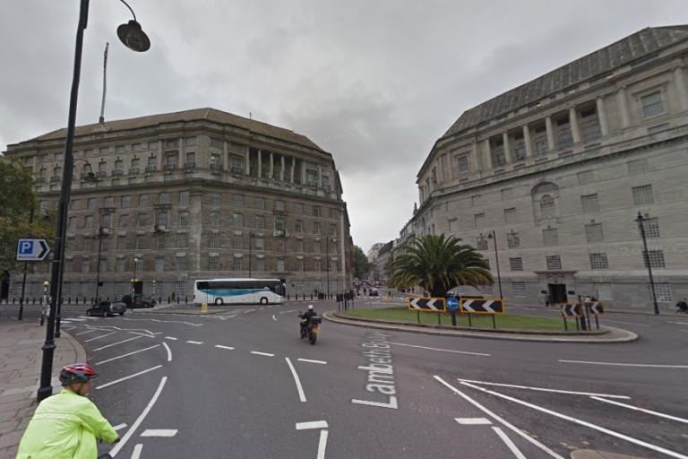Millbank Roundabout - pic Google Streetview.png