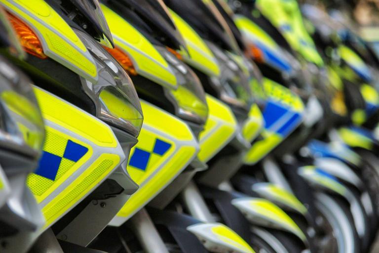 Motorbikes (copyright Simon MacMichael)