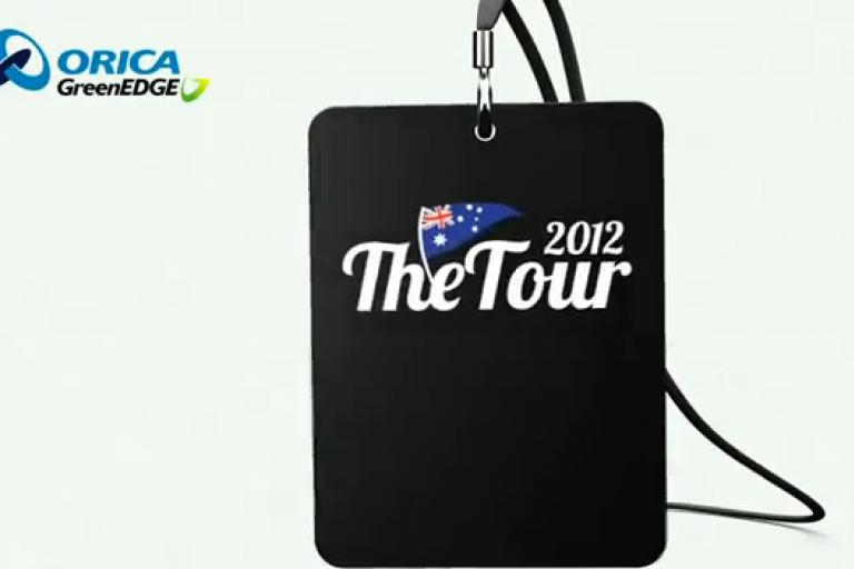 Orica GreenEdge TDF 2012 Backstage Pass