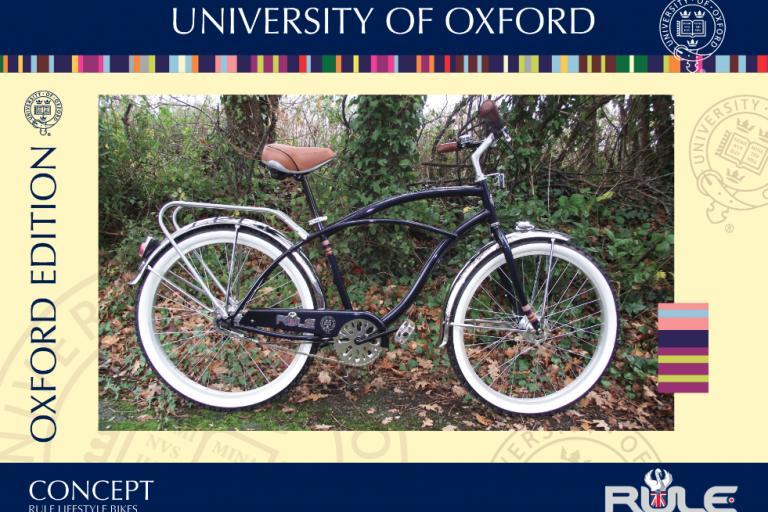 Oxford University bike
