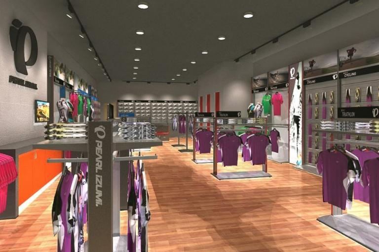 Pearl Izumi Factory Outlet store CGI