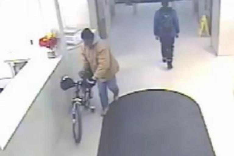 Philadelphia Police bike thief