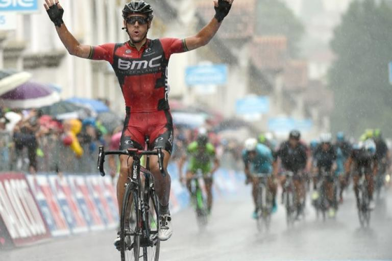 Philippe Gilbert wins Stage 12 of 2015 Giro d'Italia (picture ANSA, Dal Zennaro)