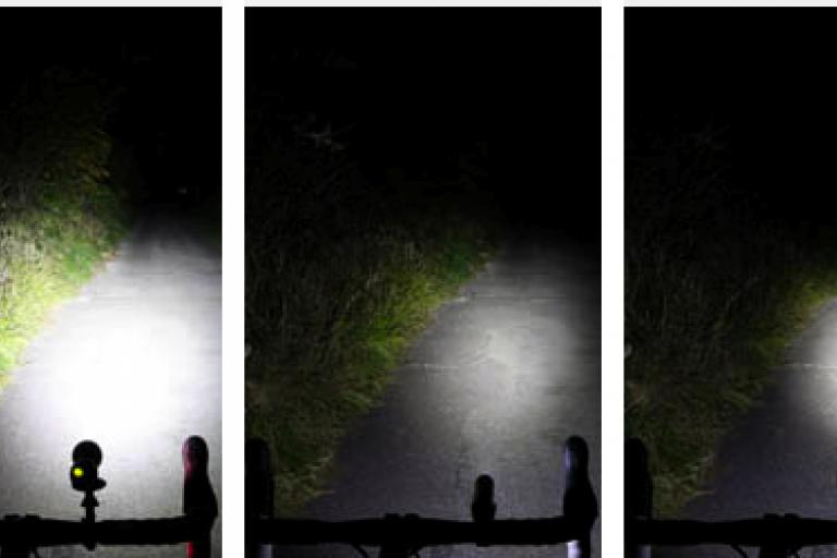 Beam test comparison shot