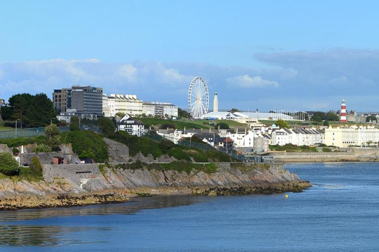 Plymouth (Image cc licensed from Flickr user bobchin1941)