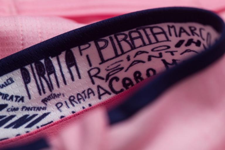 Rapha Pantani jersey detail