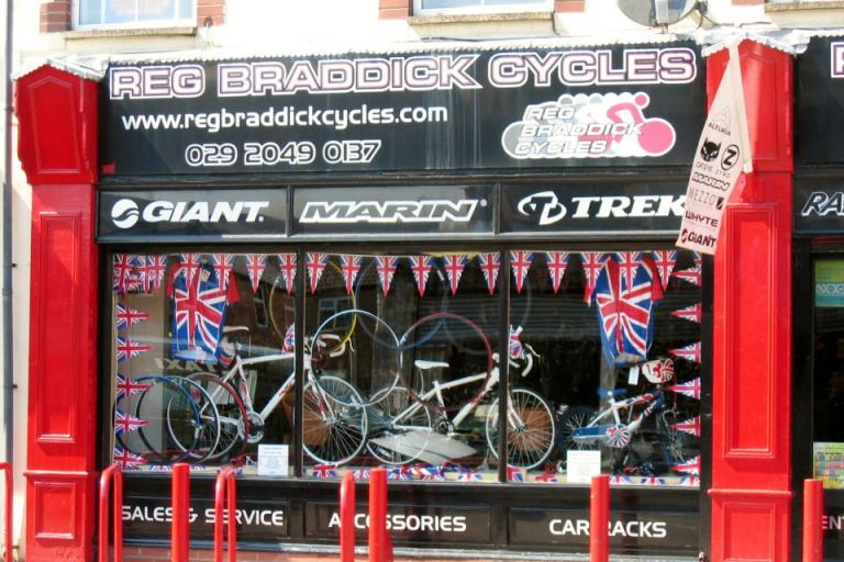 Reg Braddick Cycles (source Facebook)
