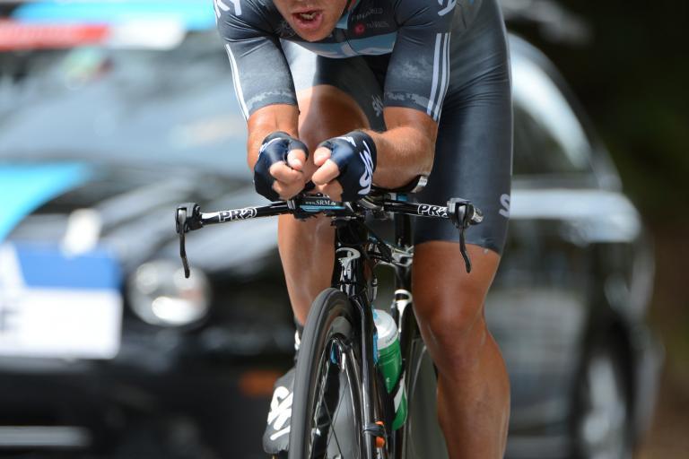 Richie Porte Vuelta 2012 ITT (copyright Graham Watson:Unipublic)