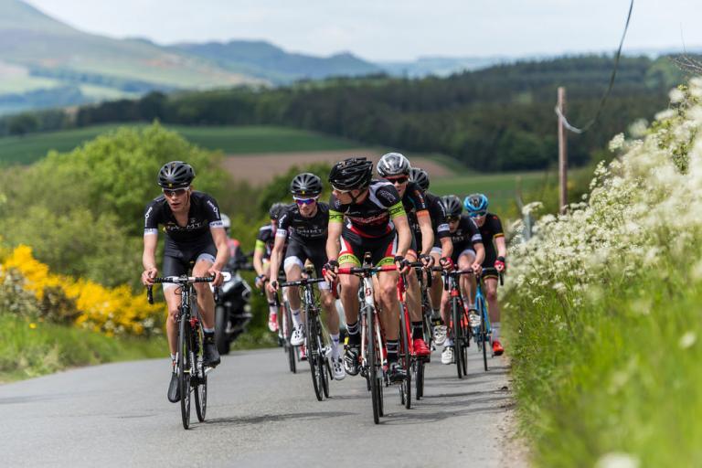 Road racing (credit British Cycling)