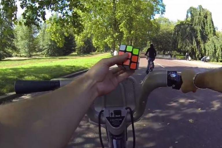 Rubik's Cube and Boris Bike YouTube still