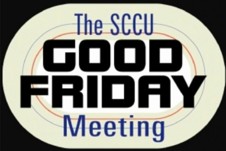 SCCU Good Friday Meeting logo