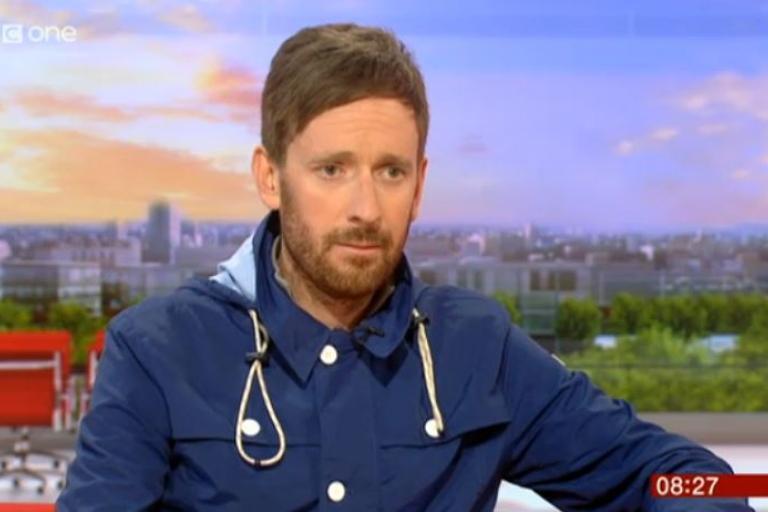 Sir Bradley Wiggins on BBC Breakfast 6 June 2014