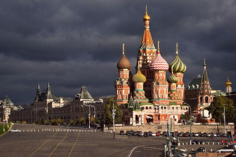St Basil's Cathedral, Moscow (picture Anton Denisenko, Wikimedia Commons)