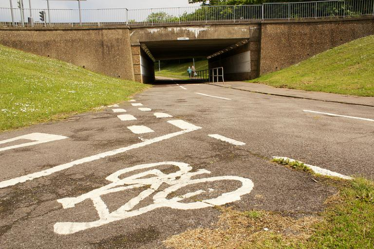 Stevenage Cycle Network (copyright Carlton Reid)