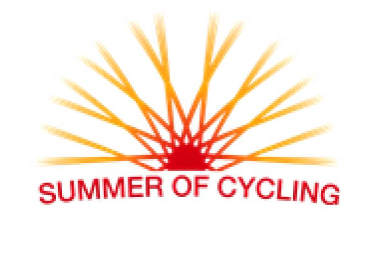 Summer of Cycling logo