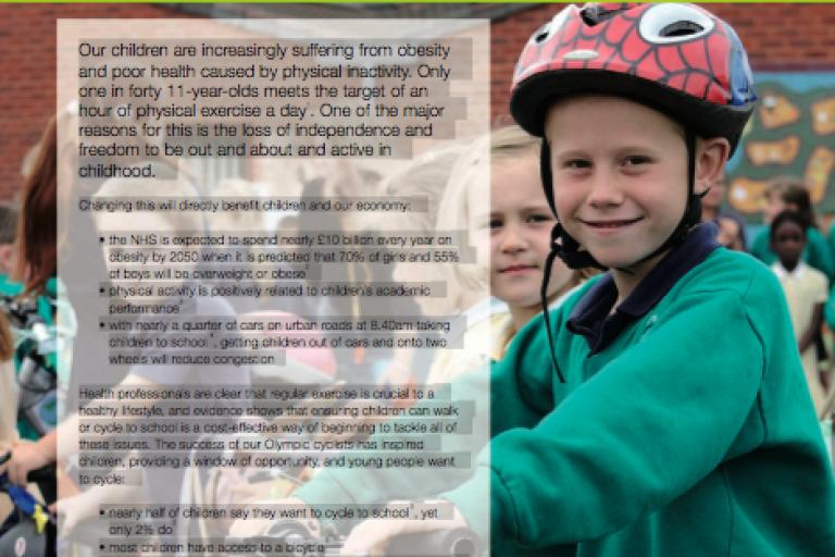 Sustrans Going for Gold report 2012