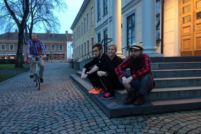 Test cyclists from Lidkoping (©www.testcylisterna.se)