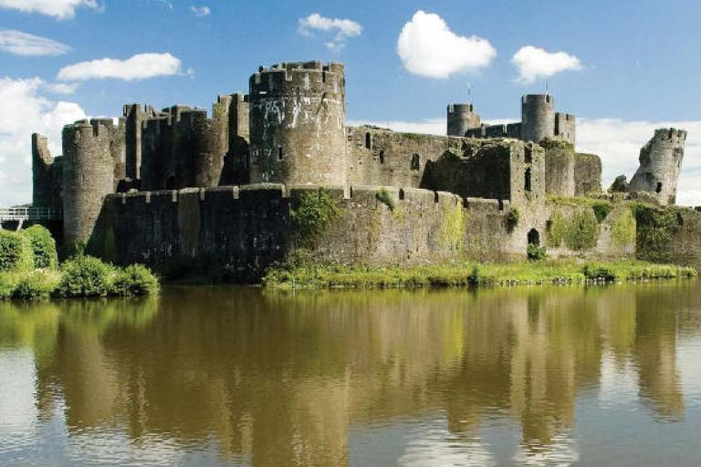 The record attempt will take place next to Caerphilly Castle.jpg