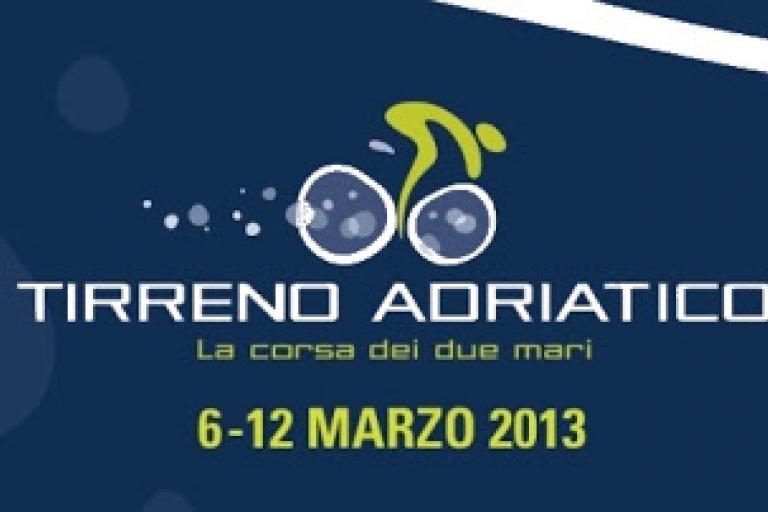 Tirreno Adriatico 2013 logo