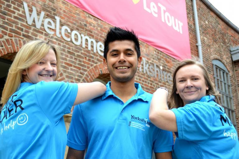 Tour Makers (l-r) Becky, Vijay, Claire
