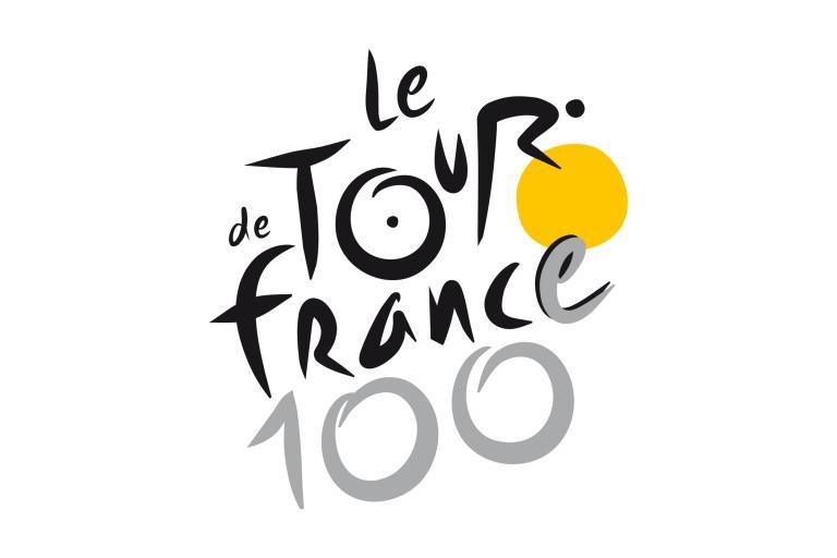 Tour de France 100 logo