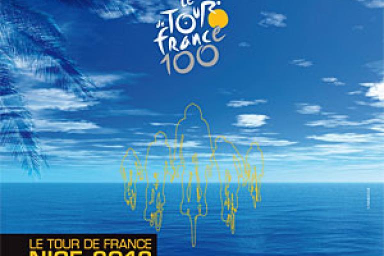Tour de France Nice 2013 poster