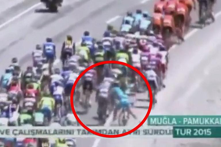 Tour of Turkey fight