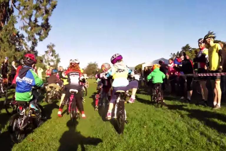 Ulster under-six cyclocross still