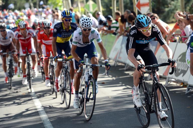 Vuelta 2012 S6 Froome, Valverde, Contador, Rodriguez (copyright Unipublic:Graham Watson)
