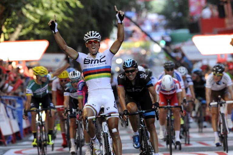 Vuelta 2013 S12 Philippe Gilbert wins (© Unipublic:Graham Watson)