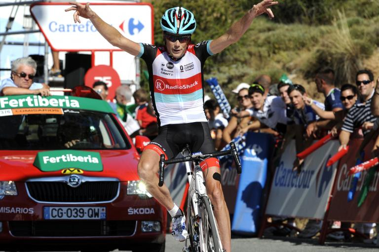 Vuelta 2013 Stage 10 - Chris Horner wins (© Unipublic:Graham Watson)