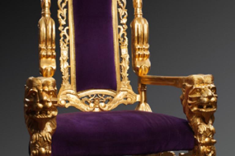 Wiggins throne (c) Graham Budd auctions