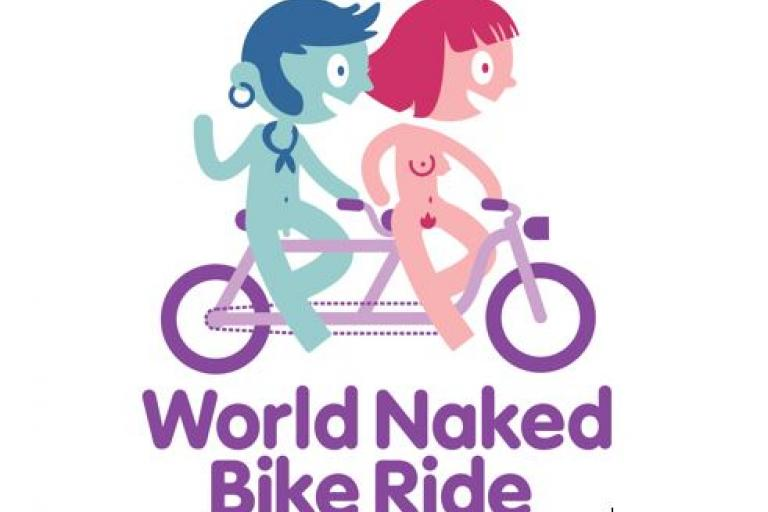 World Naked Bike Ride logo